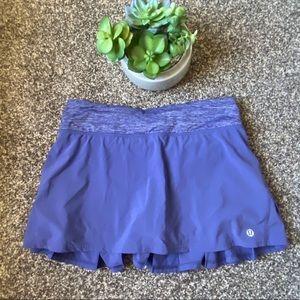 🆕Lululemon Pace Setter Skirt Purple